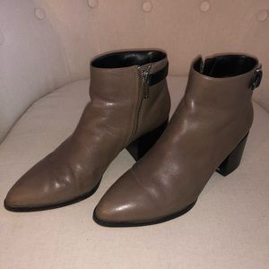 Michael Kors leather booties